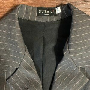 GUESS Pinstriped Blazer